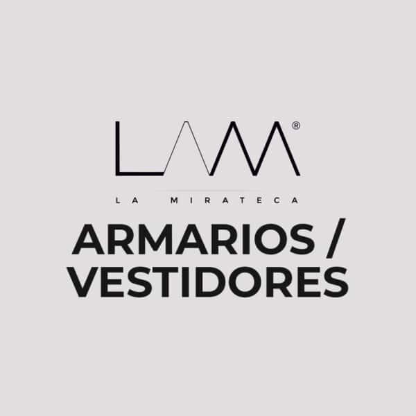 ARMARIOS VESTIDORES La Mirateca